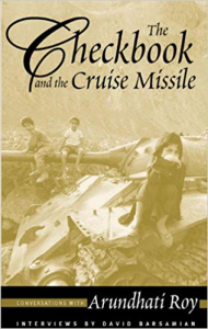 Checkbook Cruise Missile Book by Arundhati Roy